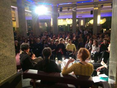 podium publikum front